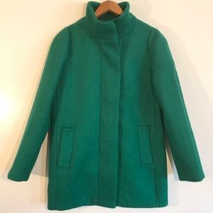50% Off Sale 🎉JCrew Green Coat